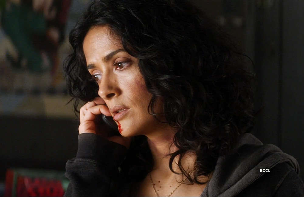 A still from Everly