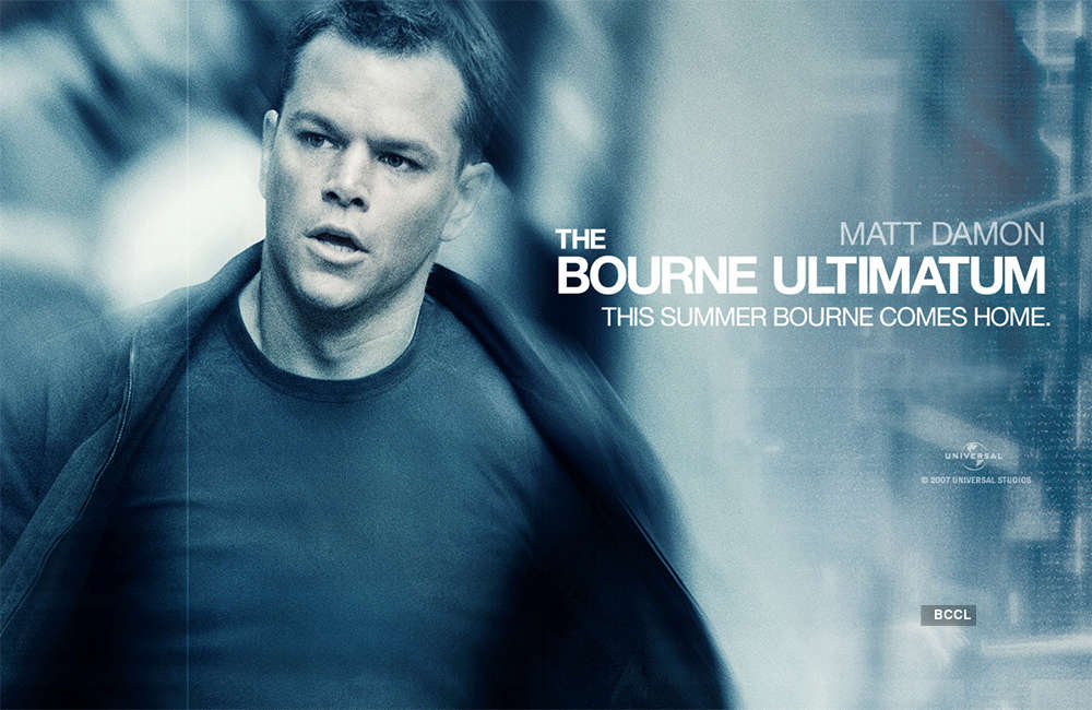 The Bourne Ultimatum Movie Show Time in Mumbai | The Bourne ...