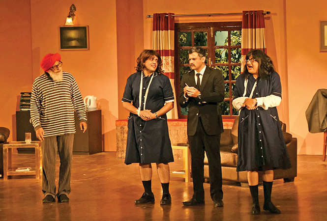 Scenes from the play Doc in the Dock (BCCL/ Farhan Ahmad Siddiqui)