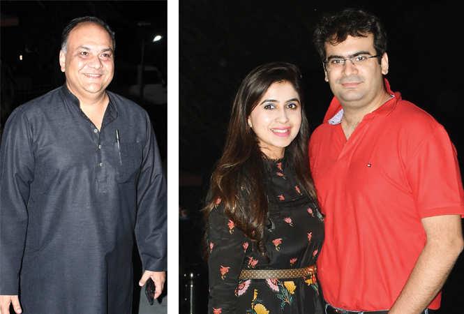 Faisal Husain (R) Gunjan and Parv  (BCCL/ Farhan Ahmad Siddiqui)