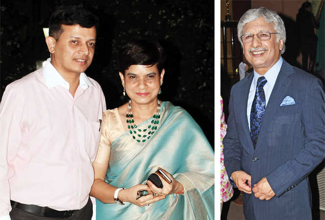 Partha Sarthi Sen Sharma & Leena Johri  (R) Kiron Chopra  (BCCL/ Farhan Ahmad Siddiqui)
