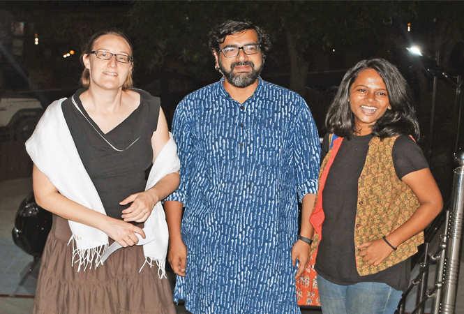 (L-R) Lisi, Akshay and Angna   (BCCL/ Farhan Ahmad Siddiqui)