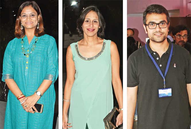 Rakhi, Saral Bhasin and Varun Rastogi  (BCCL/ Farhan Ahmad Siddiqui)