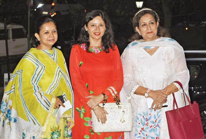 (L-R) Tanu, Nidhi and Shakun (BCCL/ Farhan Ahmad Siddiqui)