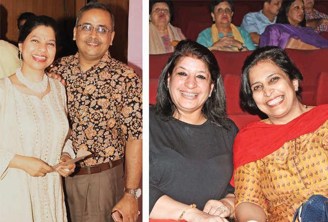 Beena and Jayant (R) Sonia Mishra and Vanita Yadav  (BCCL/ Farhan Ahmad Siddiqui)