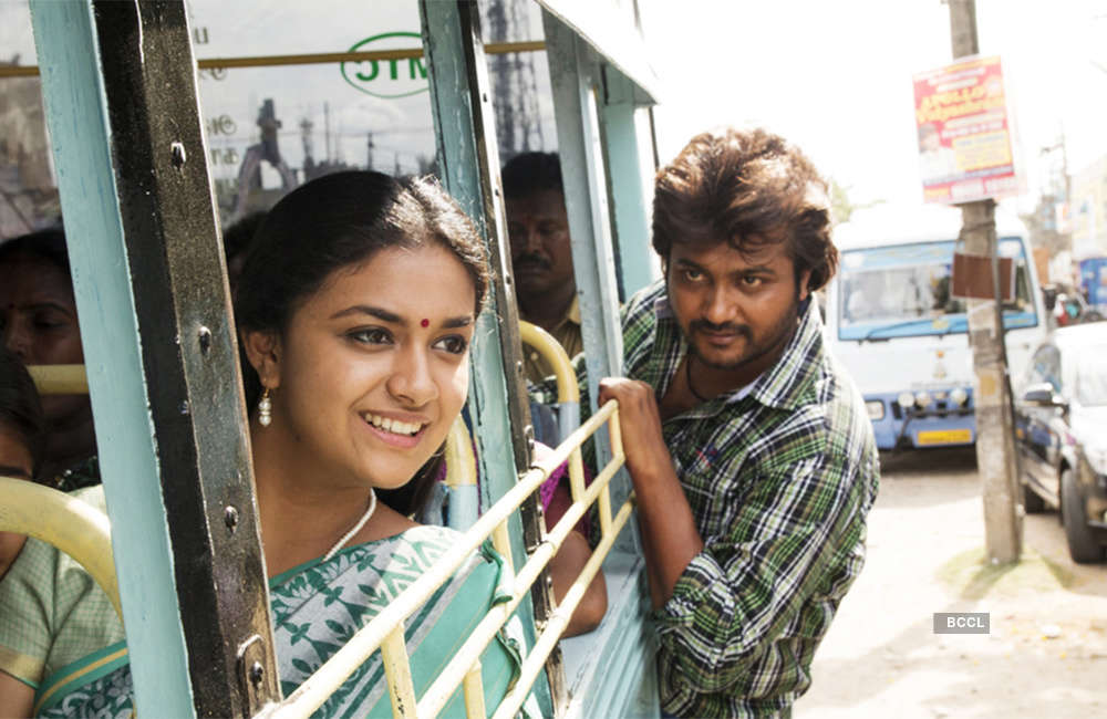 A still from Paambhu Sattai