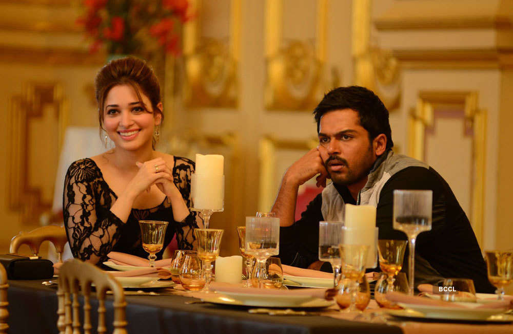 A still from Oopiri
