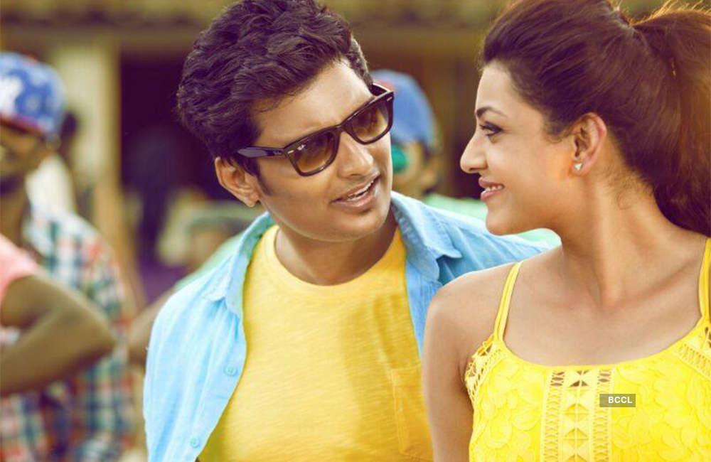A still from Kavalai Vendam