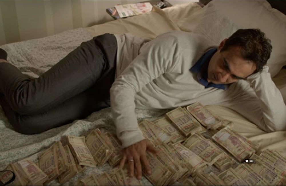 A still from Moh Maya Money