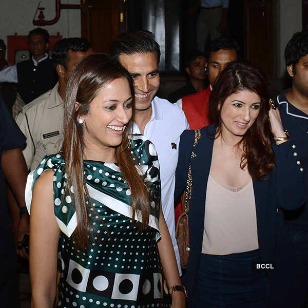 Hrithik Roshan bonds with ex-wife Sussanne Khan at a play