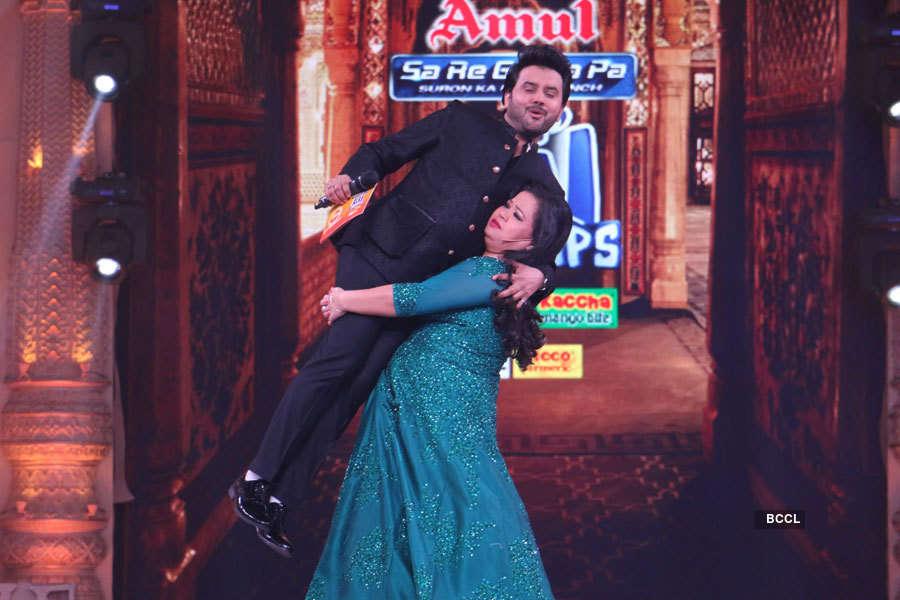 Javed Ali and Bharti Singh