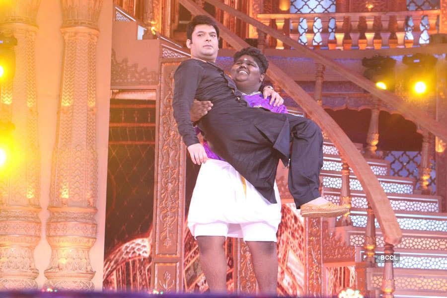 Vaishnav Girish and Kapil Sharma