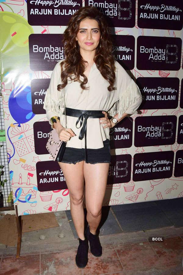 Celebrities attend TV star Arjun Bijlani's b'day party