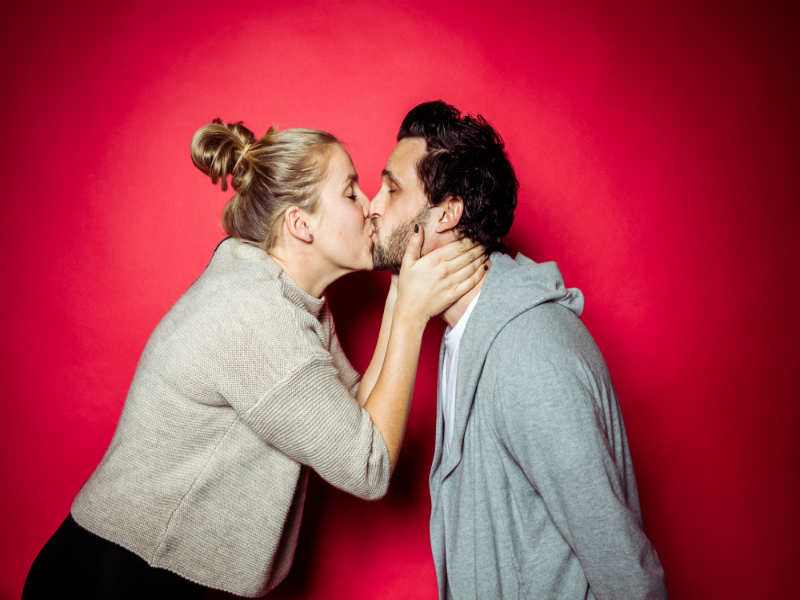 Dating no pressure, nude couple mirror shots