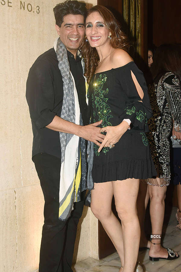 Manish Malhotra throws a party on Kaykasshan Patel's birthday