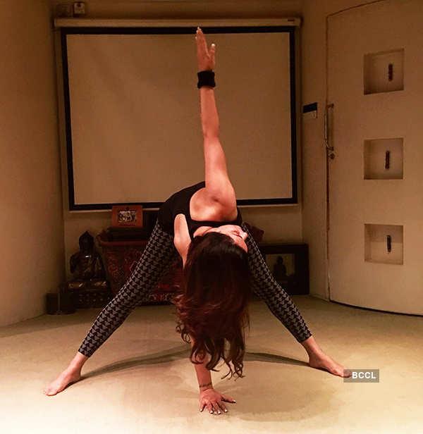Sushmita Sen's workout