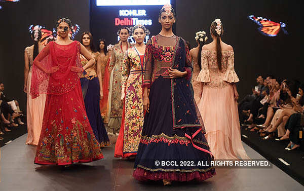 Delhi Times Lifestyle Week: Mandira Wirk show