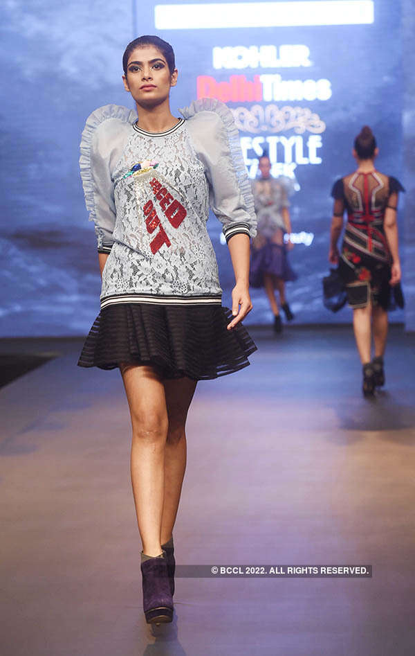 Delhi Times Lifestyle Week: Shane & Falguni Peacock
