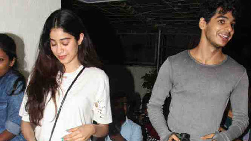 Karan Johar launches the first look of Janhvi Kapoor-Ishaan Khatter starrer  'Dhadak'