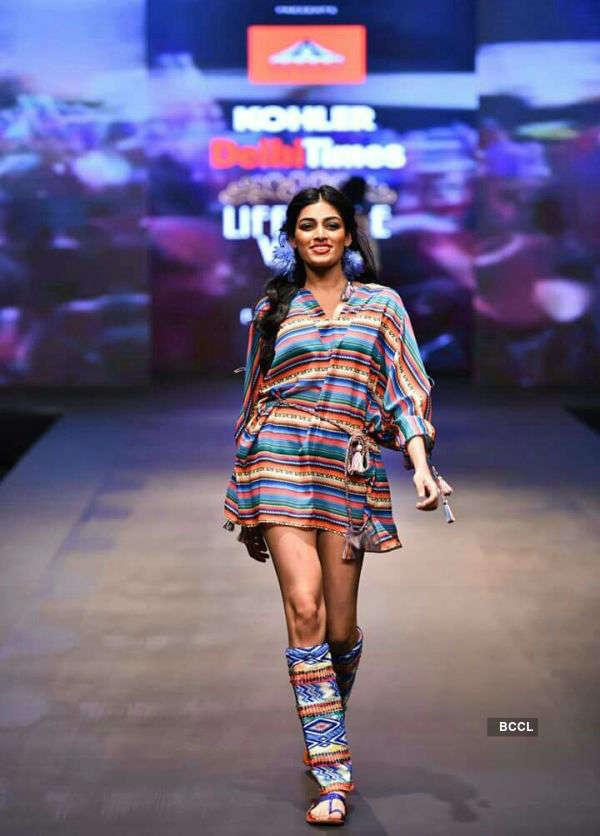 Naveli Deshmukh at Delhi Times Lifestyle Week 2017