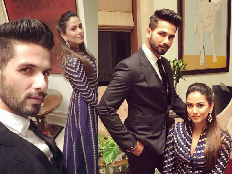 Image result for Shahid Kapoor and Mira Rajput's candid pictures times of india