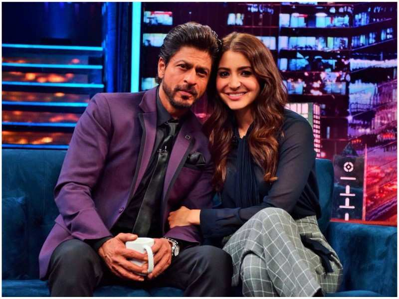 Shah Rukh Khan and Anushka Sharma bond over ludo on sets of Aanand ...