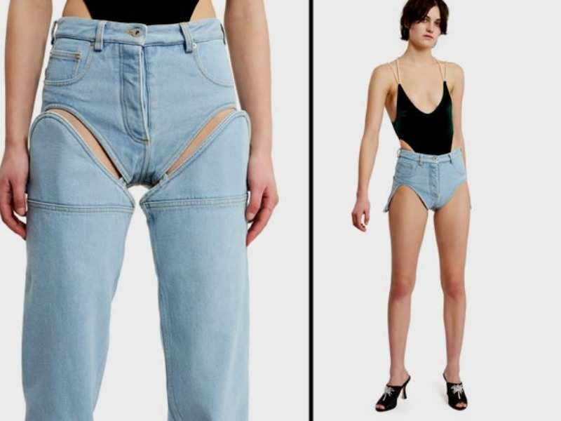 b02ec922e0303 However, detachable jeans make for the most bizarre denim trend and so it  even tops our list here.