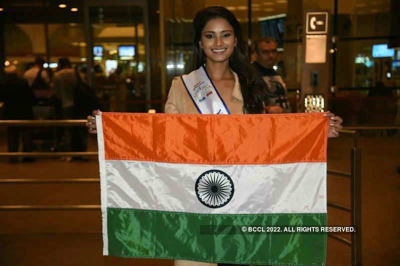 Shraddha Shashidhar's Journey at Miss Universe 2017