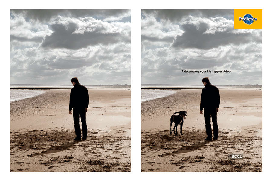 Creative advertisements with social messages