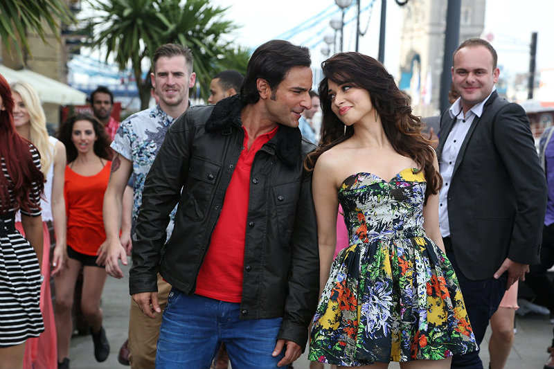 Tamannaah Bhatia Cute Pics and Wallpapers: With Saif Ali Khan in a still from Humshakals