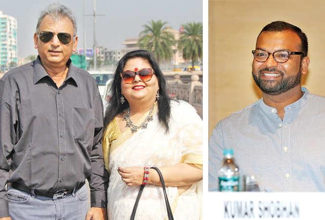 Ajay and Meenakshi Jain (R) Kumar Shobhan  (BCCL/ Aditya Yadav)