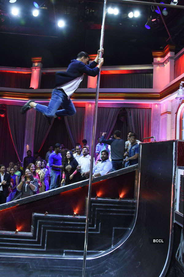 The Great Indian Laughter Challenge: On the sets
