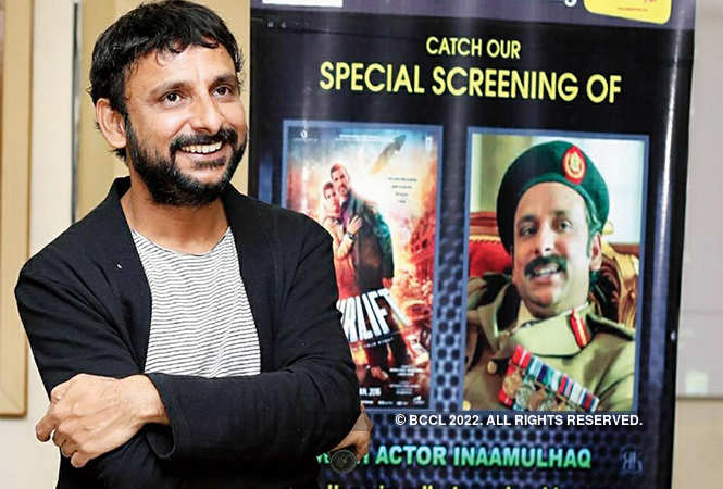 Inaamulhaq celebrated his birthday and Children's Day with a special screening of his film 'Airlift' and cutting a cake with  specially-abled children in Varanasi   (BCCL)