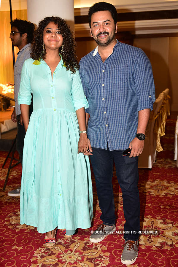RJ Shaan and actress Parvathy Menon's starry wedding reception