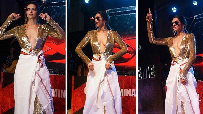 Deepika Padukone Hot at xXx Return Of Xander Cage Promotion