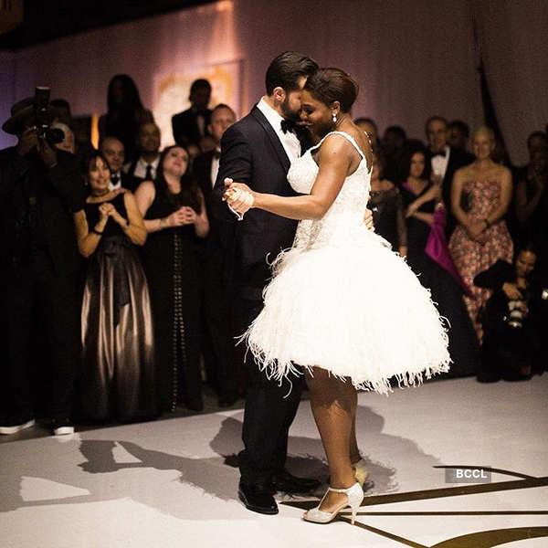 Serena and Alexis dancing