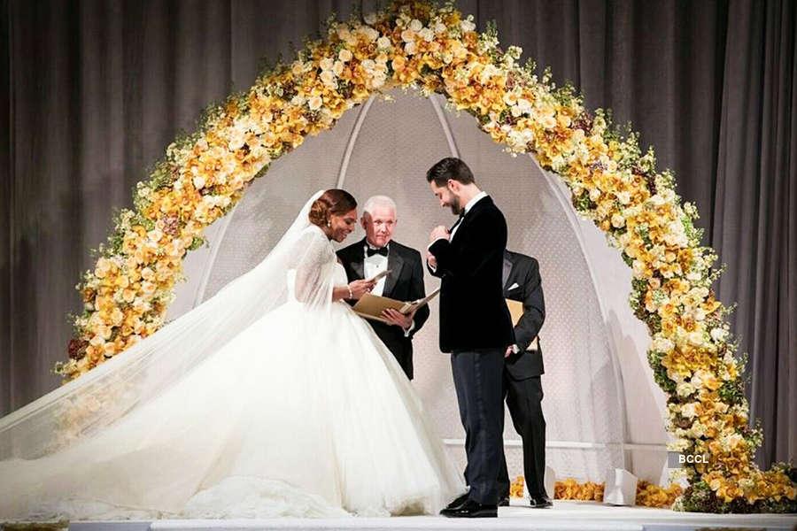 Serena Williams's wedding