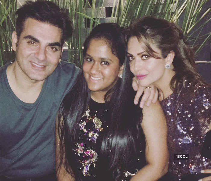 Salman bonds with Iulia and Ex Katrina at a party