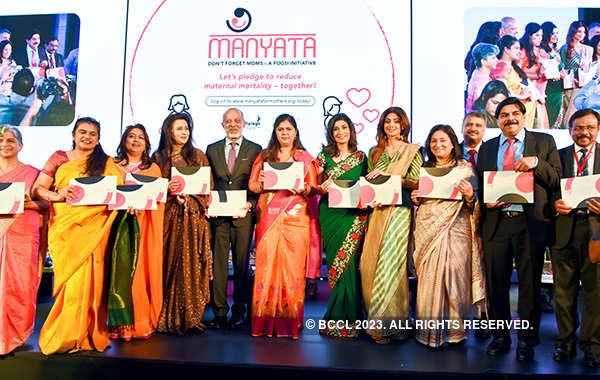 Shilpa Shetty at FOGSI conference