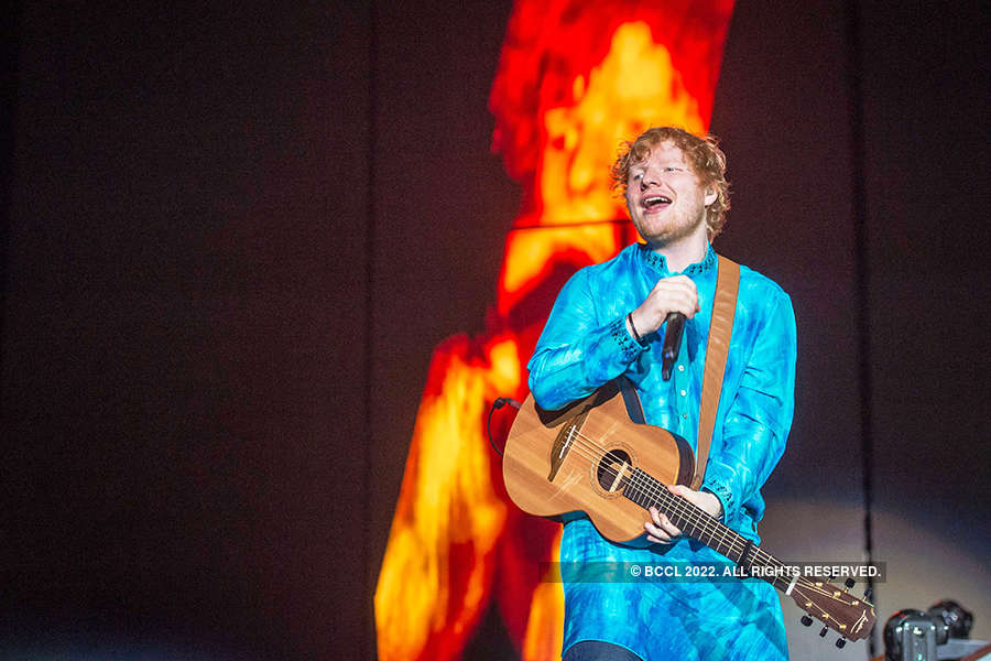 Ed Sheeran's concert pictures you shouldn't miss!