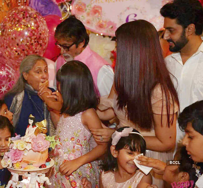 Star kids enjoy at Aaradhya Bachchan's birthday party