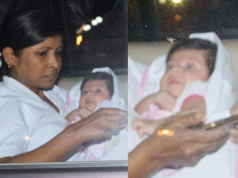 Pic: Soha Ali Khan and Kunal Kemmu take baby Inaaya to visit cousin Taimur