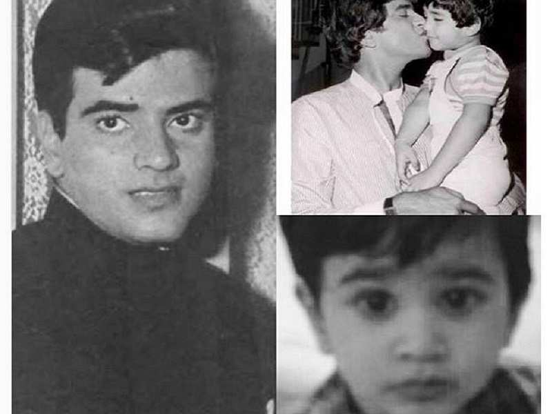 Pic Ekta Kapoor points at uncanny resemblances