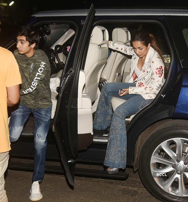 Iulia Vantur makes up for alleged beau Salman Khan as he misses mom Helen's birthday party, Malaika grabs eyeballs