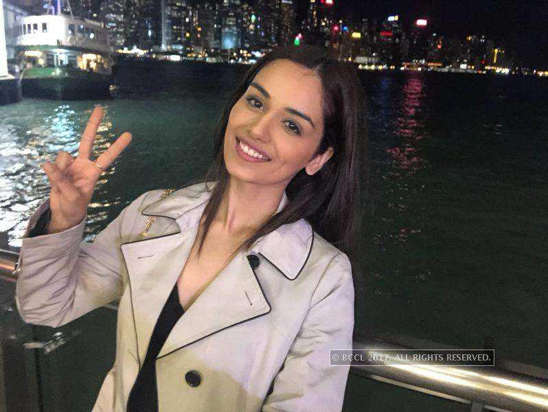 Exclusive images of Manushi Chhillar after winning Miss World 2017