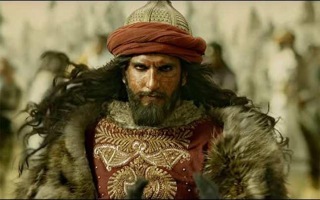 Ranveer Singh's look in Padmavati