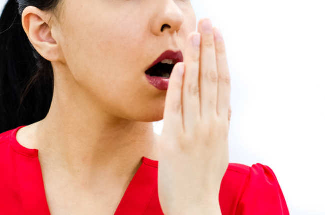 Home remedies for bad breath - Times of India