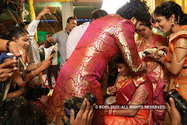 Namitha and Veera tie the knot