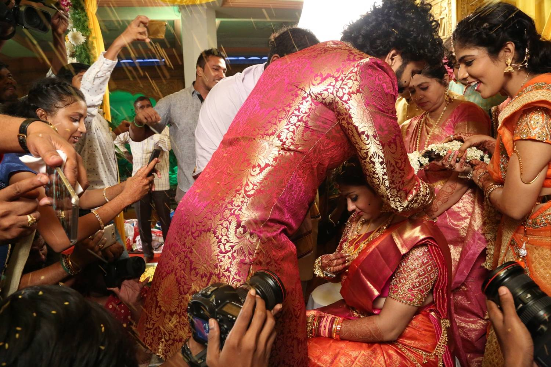 Bigg Boss Contestent Namitha Marriage Pics