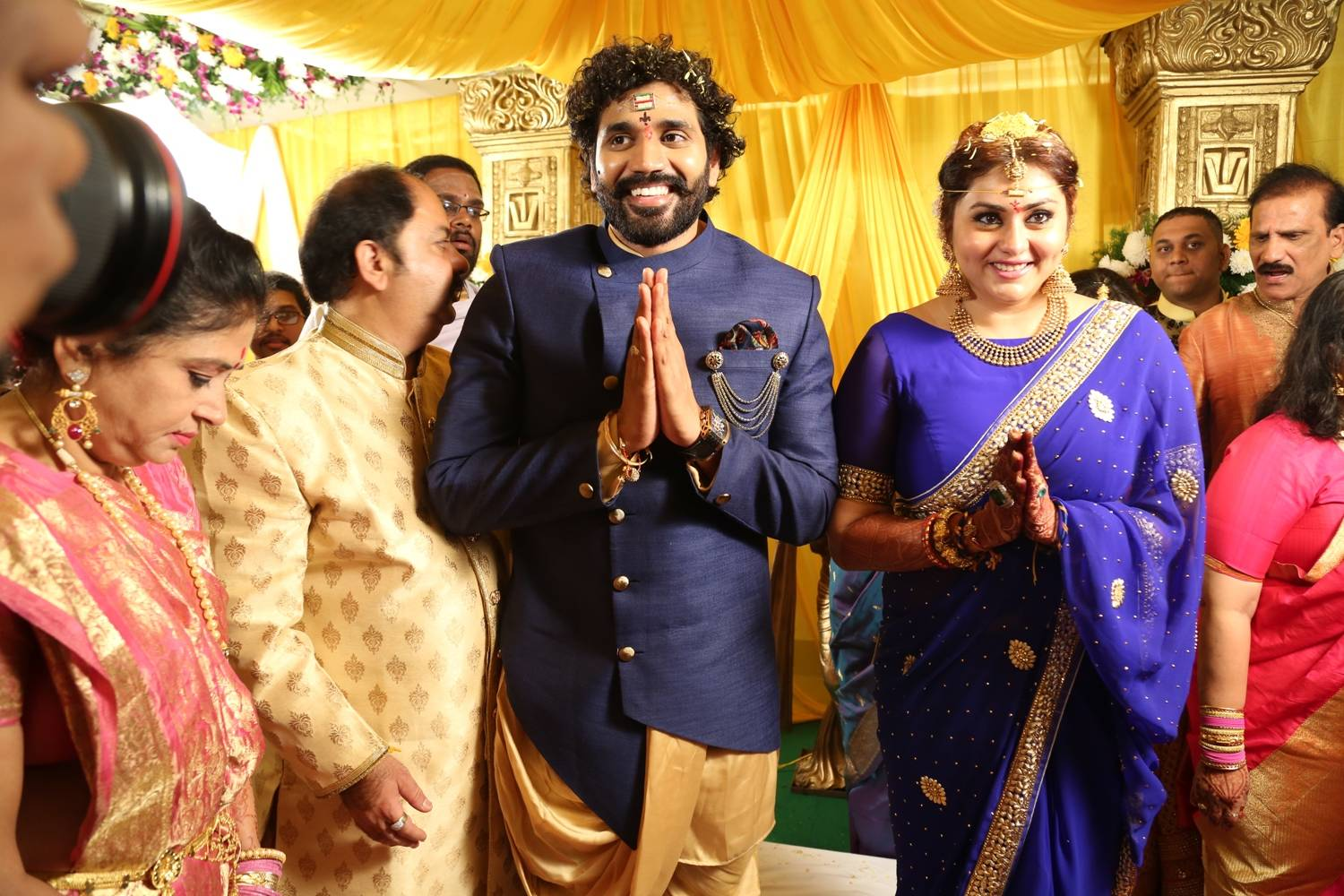 Bigg Boss Contestent Namitha Marriage Pictures
